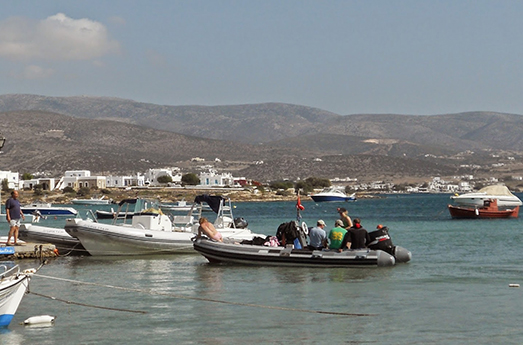 Diving Antiparos
